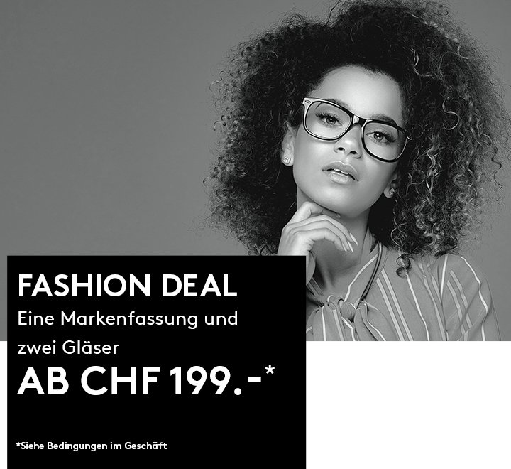 Optic 2000 offre fashion deal