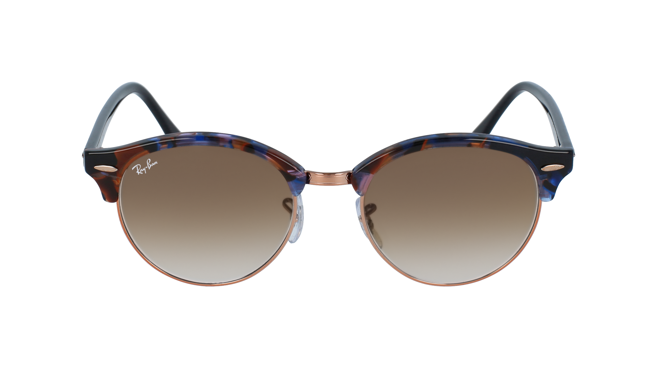 498140 Rayban Clubroundrb4246 S 125651 51 19 145 2500x1400 Front