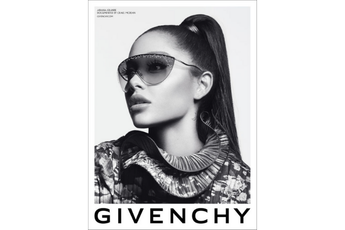 Optic 2000 Article Ariana Grande Givenchy Photo Officielle Campagne