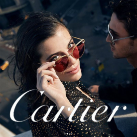 Optic 2000 Article Marque Cartier Lunettes Soleil Roses